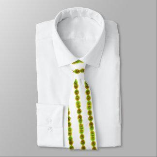 Neck Tie - Streptococcus (green on white)
