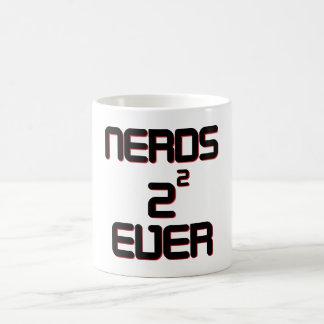 Nerds 4 Ever Basic White Mug