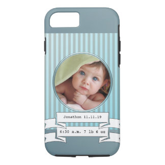 New Baby Boy Photo iPhone Case For Mom or Grandma