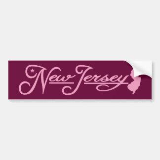 New Jersey (State of Mine) Bumper Sticker