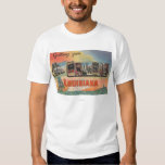 New Orleans, Louisiana - Large Letter Scenes Shirt