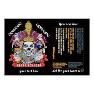"""New Years 60"""" x 40"""", Poster Re-Size"""