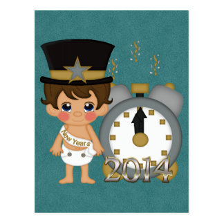 New Years - Baby New Year 2014 Postcard