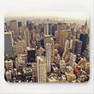 New York City From Above Mouse Pad