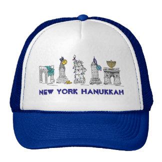 New York Hanukkah NYC Chanukah Happy Holidays Hat