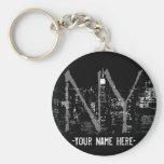 New York Key Chain Customised New York Souvenirs