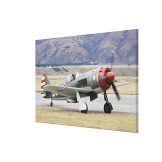 New Zealand, Otago, Wanaka, Warbirds Over 7 Canvas Prints