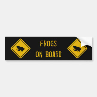 next 10 km frogs bumper sticker