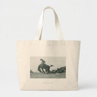 Nick Knight riding T. Joe at Cheyenne Frotier Days Jumbo Tote Bag
