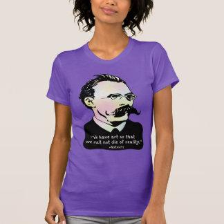 Nietzsche - Art v. Reality T-shirts
