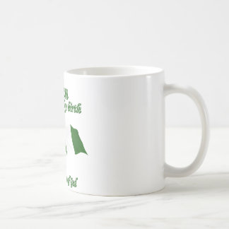Nigerian by birth saved by the grace of God Basic White Mug