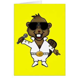 Nightclub Entertainer Greeting Card
