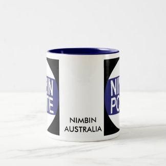 Nimbin Australia Two-Tone Mug