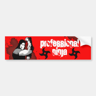 Ninja Bumper Sticker