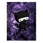 Ninja Kitty Postcard