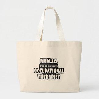 Ninja Occupational Therapist Jumbo Tote Bag