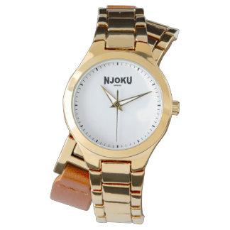 Njoku Apparel Women's 'Gold' Wrist Watch. Wrist Watches