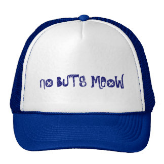 No Buts Meow Cap