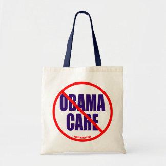No Obama Care Totebag Budget Tote Bag