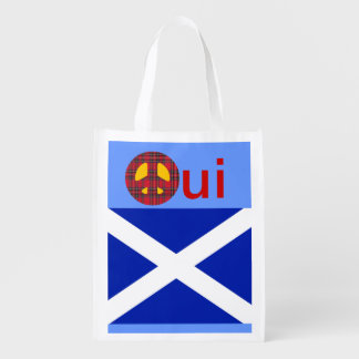 No Trident Scottish Independence Grocery Tote
