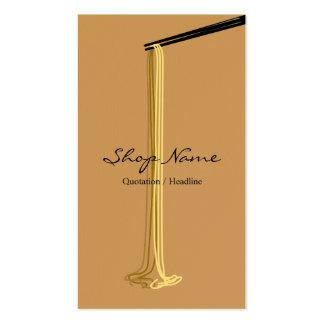 Noodle Shop Business Card