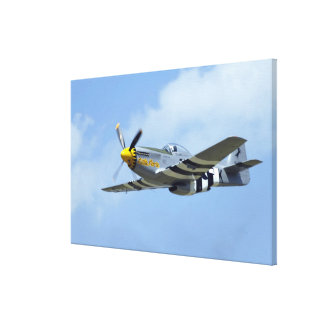 North American P-51D Mustang, Little Horse Gallery Wrapped Canvas
