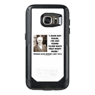 Not Failed Found 10,000 Ways Won't Work Edison Qte OtterBox Samsung Galaxy S7 Case