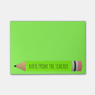 Note From Teacher Post-it® Notes