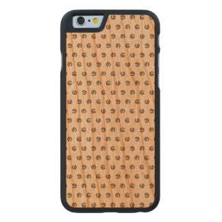 Now Safe For Work (NSFW) Lucky 9 Pattern iPhone Ca Carved® Cherry iPhone 6 Case