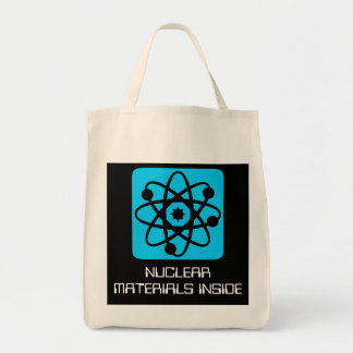 Nuclear Goods Grocery Tote Bag