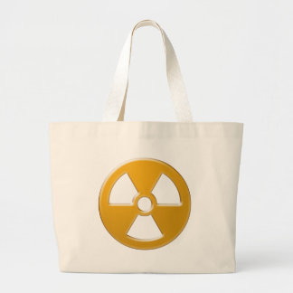 Nuclear Warning Jumbo Tote Bag