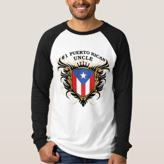 Number One Puerto Rican Uncle T-shirts