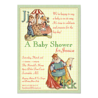 Nursery Rhyme Baby Shower Invitation