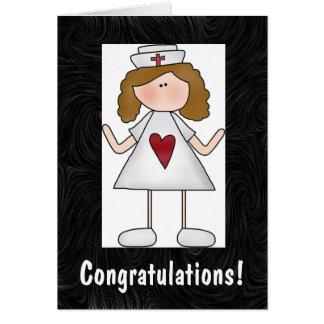 Nursing Congratulations Greeting Card