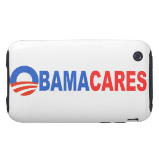 Obama Cares iPhone 3 Tough Covers