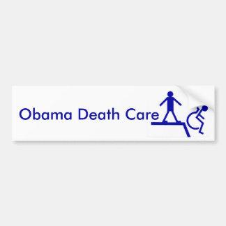 Obama Death Care Bumper Sticker