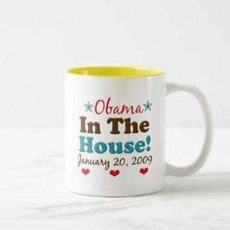 Obama In The House Mug