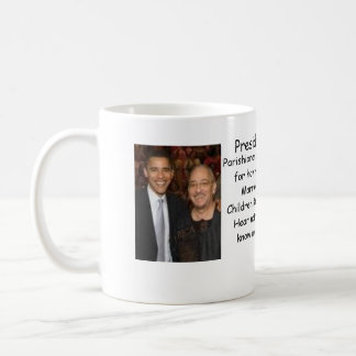 Obama/Rev Wright Basic White Mug