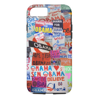 Obama Sign Collage iPhone 7 case