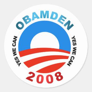 OBAMDEN Sticker