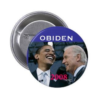 OBIDEN, 2008 - 6 CM ROUND BADGE