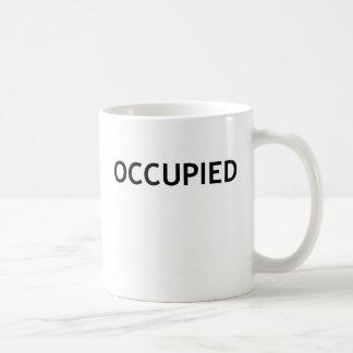 Occupied On Wall Street Basic White Mug