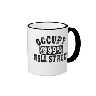 Occupy Wall Street 99% Ringer Mug