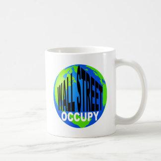 Occupy Wall Street Global Basic White Mug