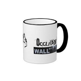 Occupy Wall Street Ringer Mug