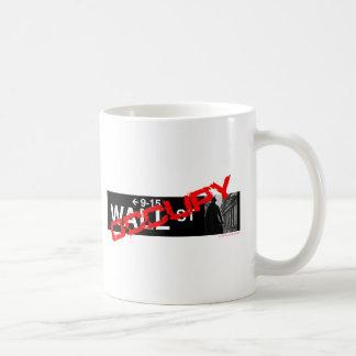 Occupy Wall Street Sign Basic White Mug