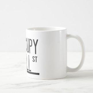 Occupy Wall Street -Statue of Liberty Basic White Mug