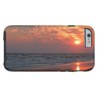 Ocean Sunset - Oak Island, NC Tough iPhone 6 Case