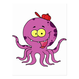Octave the Octopus Postcard