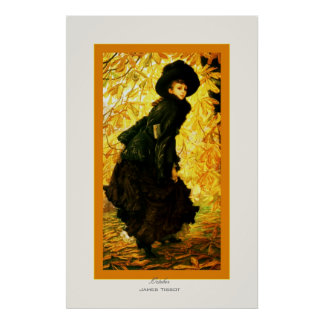 October ~ James Tissot ~ Fine Art Poster